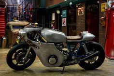 Eleven - Seoz Bike Yamaha XS1100 cafe racer via returnofthecaferacers.com