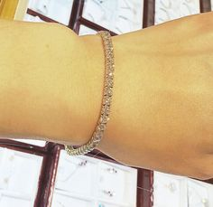 A classic tennis bracelet will work with any outfit!  Visit us at 8032 Leesburg Pike, Tysons Corner, VA 22182.