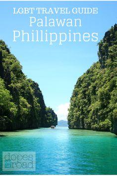 Palawan Island Philippines El Nido Big Lagoon Lesbian Gay Bisexual Transgender Travel Guide DopesOnTheRoad.com