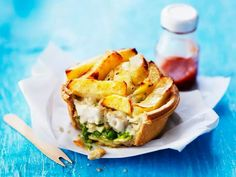 Clever! Fish & chips pie!