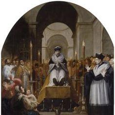La conversión de San Bruno ante el cadáver de Diocres