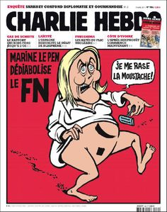 Caricatures, Marine Le Pen, Front National, Thumbnail Design, Non Sequitur, Satire, Embedded Image Permalink, Twitter, Funny