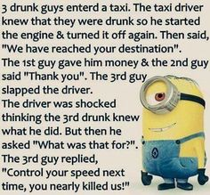 Minions are cute, Adorable and Funny ! Just like Minions, There memes are also extremely hilarious . So here are some very funny and cool minions memes, they will sure leave you laughing for a whi… Funny Minion Pictures, Funny Minion Memes, Minions Quotes, Funny Jokes, Funny Sayings, Minion Sayings, Minion Humor, Random Funny Quotes, Funny Pics