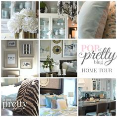 Home Tour: A Pop of Pretty (Home Decor Blog) | A Pop of Pretty: Canadian Decorating Blog & Interior Decorator St Johns NL | Finding the pretty in an every day home | Affordable home decor ideas tips tutorials inspiration.
