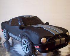 Shelby Mustang groom's cake!