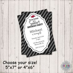 Sooiet Birthday Party Invite - Inv003C - Printable Invite, Razorback Birthday Invitation, Hog party, digital invite by ChevellyDesigns on Etsy