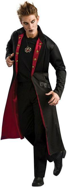 Adult Vampire Coat Costume