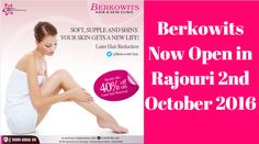 Stay ready for the new beginning in life! Live hair free like you always wanted Ready to Berkowits.#ComeToBerkowits #Rajouri #Delhi #LaserHairRemoval