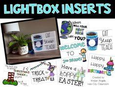 Lightbox Inserts made for the Heidi Swapp Light box! A growing bundle perfect for back to school. Classroom Design, Future Classroom, Classroom Decor, School Room Organization, Thanksgiving Bible Verses, Buddy The Elf Quotes, Psalm 107 1, Classroom Arrangement, Teacher Hacks