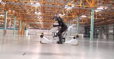 Hoverbike: yes. Unprotected blades: no.