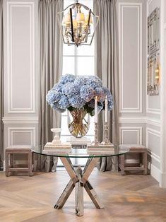 Home Decoration Ideas Flowers Interior Design 62 Ideas Classic Interior, Home Interior Design, Interior Decorating, Decorating Ideas, Decor Ideas, Interior Livingroom, Luxury Interior, Interior Ideas, Luxury Furniture