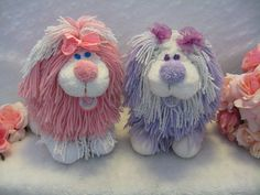 Fluppy Dogs: Had the yellow as a kid and found the blue at a thrift shop a few years back.