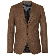 Every man needs to won at least one tweed sport coat: Burberry Prorsum donegal tweed jacket