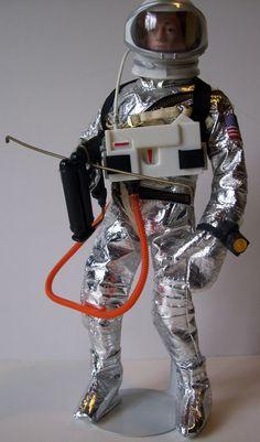 "1964 GI Joe Vintage Hasbro 12"" Astronaut Thruster Main Body"