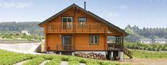 Honkamajat / Log Home: log house, wooden house, log building
