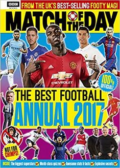 cb360b955ea Match of the Day Annual 2017 (Annuals 2017)  Amazon.co.uk
