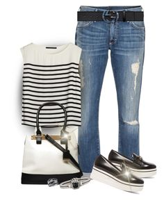 """""""Blk & White"""" by seahag2903 ❤ liked on Polyvore"""
