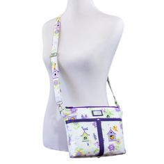 The Nice and Easy Cross-body Bag – Sew and Sell PDF Pattern from Sewn Ideas Beginner Sewing Patterns, Bag Patterns To Sew, Sewing For Beginners, Quilting Patterns, Quilting Designs, Tote Tutorial, Easy Cross, Lining Fabric, Beautiful Bags