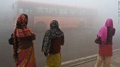 New Delhi's air pollution has reached levels so toxic that United Airlines is canceling flights to the Indian city until it improves. Environmental Degradation, Environmental Law, Air Pollution In India, Delhi Pollution, Ingo, Pictures Of The Week, The Weather Channel, World Cities, Global Warming