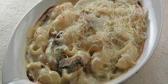 Zapečeni makaroni sa sirom i gljivama