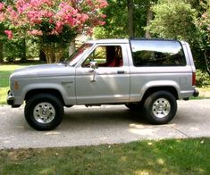silver ford bronco ii - Google Search