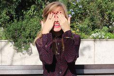COME ON MIRACLE ! | Look Burgundy | Zara, Maje, Uniqlo