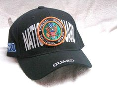 Vintage National Guard Low Profile Ball Cap Never Worn 9a2daad10e24
