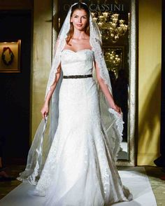 Oleg Cassini Fall 2017 Wedding Dress Collection   Martha Stewart Weddings – Strapless mermaid wedding dress