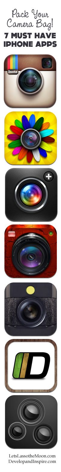 7 Photography iPhone apps