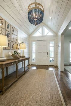 beach house mixed with southern charm