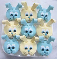 lieve konijnen cakejes