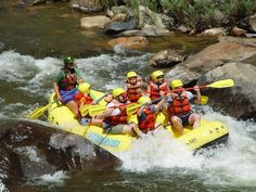White water river rafting om the colorado river!! One day :)