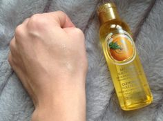 The Body Shop's Satsuma Beautifying oil is one of the few or perhaps the only oil that I have come across, which is extremely great on skin from head to toe.
