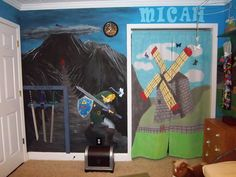 Legend of Zelda Kid's Room | The Mary Sue -- oh my. This is a MUST in my kids future.