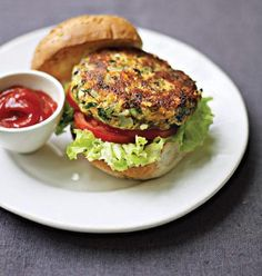 This burger was amazing and high in protein -great with avocado. Putting it into the rotation. Easy Vegetarian | workingmother.com