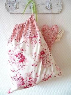 Laundry Bag Lingerie Bag Large French Country by PeriDotbyDuni, $25.00