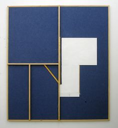 Florian Schmidt  Untitled(Hold)4, 2010  Vinyl, oil, cardboard, wood, canvas  70.47 x 62.6 inches  179 x 159 cm
