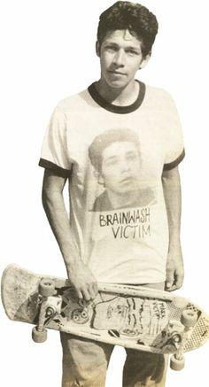 The man, Mark Gonzales. Old School Skateboards, Vintage Skateboards, Tshirt Photography, Skater Photography, Old Scool, Skate Photos, Carl Zeiss Jena, Skate And Destroy, Skate Art