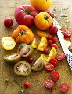 Heirloom tomatoes :)