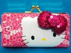 Hello Kitty Lipstick bag / coin bag - and like OMG! get some yourself some pawtastic adorable cat shirts, cat socks, and other cat apparel by tapping the pin! Hello Kitty Purse, Hello Kitty My Melody, Hello Kitty Items, Sanrio Hello Kitty, Hello Kitty Collection, Cat Bag, Hello Kitty Wallpaper, Yamaguchi, Here Kitty Kitty