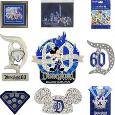 Disneyland Resort Diamond Celebration Pins Will Dazzle You
