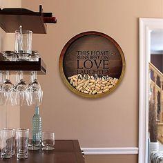 Marva Wine Cork Catcher Shadow Box Wall Art