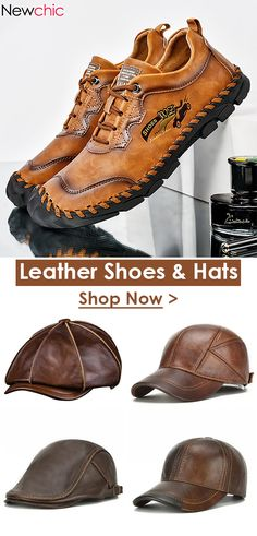 Newchic - Fashion Chic Clothes Online, Discover The Latest Fashion Trends Brown Leather Ankle Boots, Leather Men, Leather Shoes, High Heel Boots, Heeled Boots, Smartwatch, Athleisure, Moda Punk, Sneakers Fashion