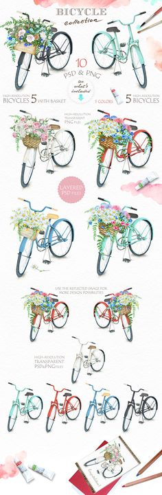 90%OFF! Big Watercolor BUNDLE by Eva-Katerina on @creativemarket