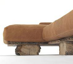 rustic lighting ideas | rustic wood sofa with comfortable design rustic wood sofa back rest ...