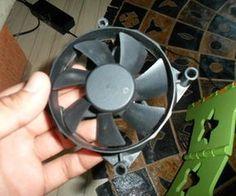 Old PC Fan ----> Wind Turbine in 10 Minutes