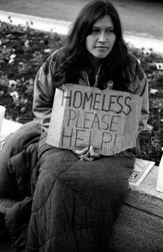 homeless woman city - Google Search