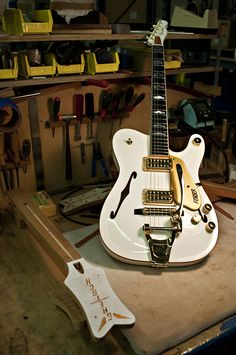 Recently ordered a Luthier (guitar maker) in the States to custom make a guitar for me based on this unreleased beauty! Can't wait......