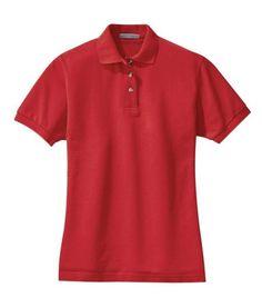 2e655a19f Port Authority - Ladies Pique Knit Sport Shirt. L420