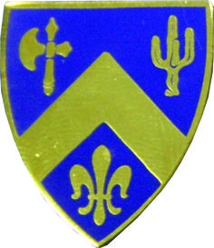 184 Infantry Unit Crest (No Motto)